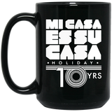 MCH 10yrs 15 oz. Black Mug