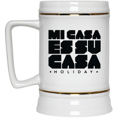 Classic Mi Casa Holiday Beer Stein 22oz.