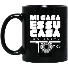 MCH 10yrs 11 oz. Black Mug