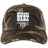 Mi Casa Holiday 10yrs  Distressed Dad Cap