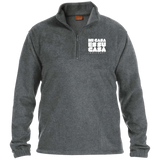 Classic MCH Embroidered 1/4 Zip Fleece Pullover