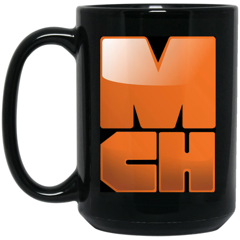 MCH Corp 15 oz. Black Mug
