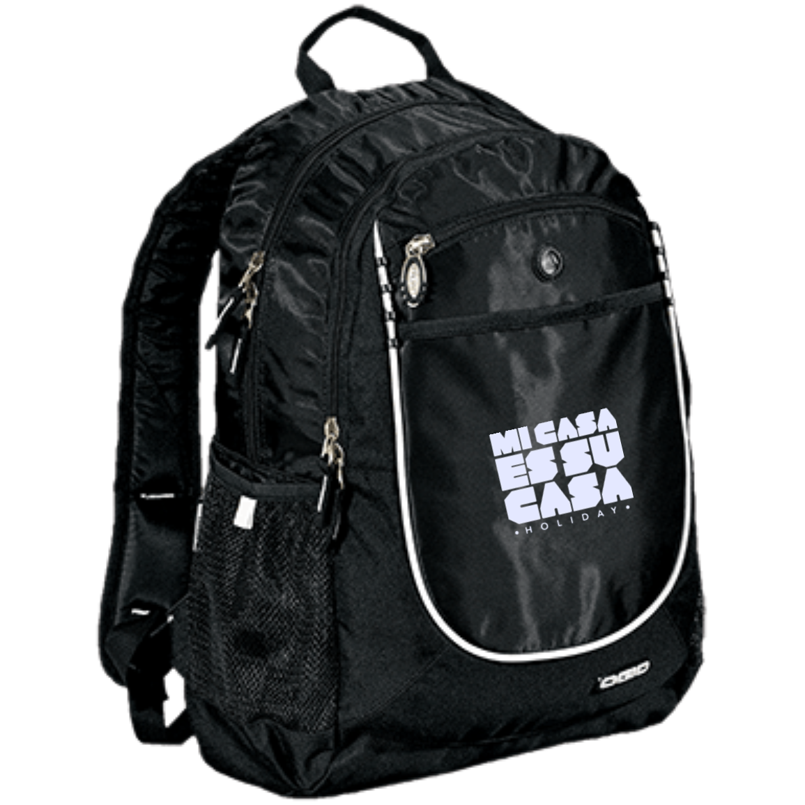 Mi Casa Holiday Rugged Book-Bag