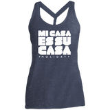 Classic Mi Casa Holiday District Made Ladies Cosmic Twist Back Tank