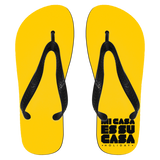 Mi Casa Holiday Flip Flops - Small