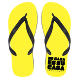 Mi Casa Holiday Flip Flops - Large