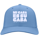 Mi Casa Holiday Embroidered Twill Cap