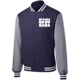 MCH Sport-Tek Fleece Letterman Jacket