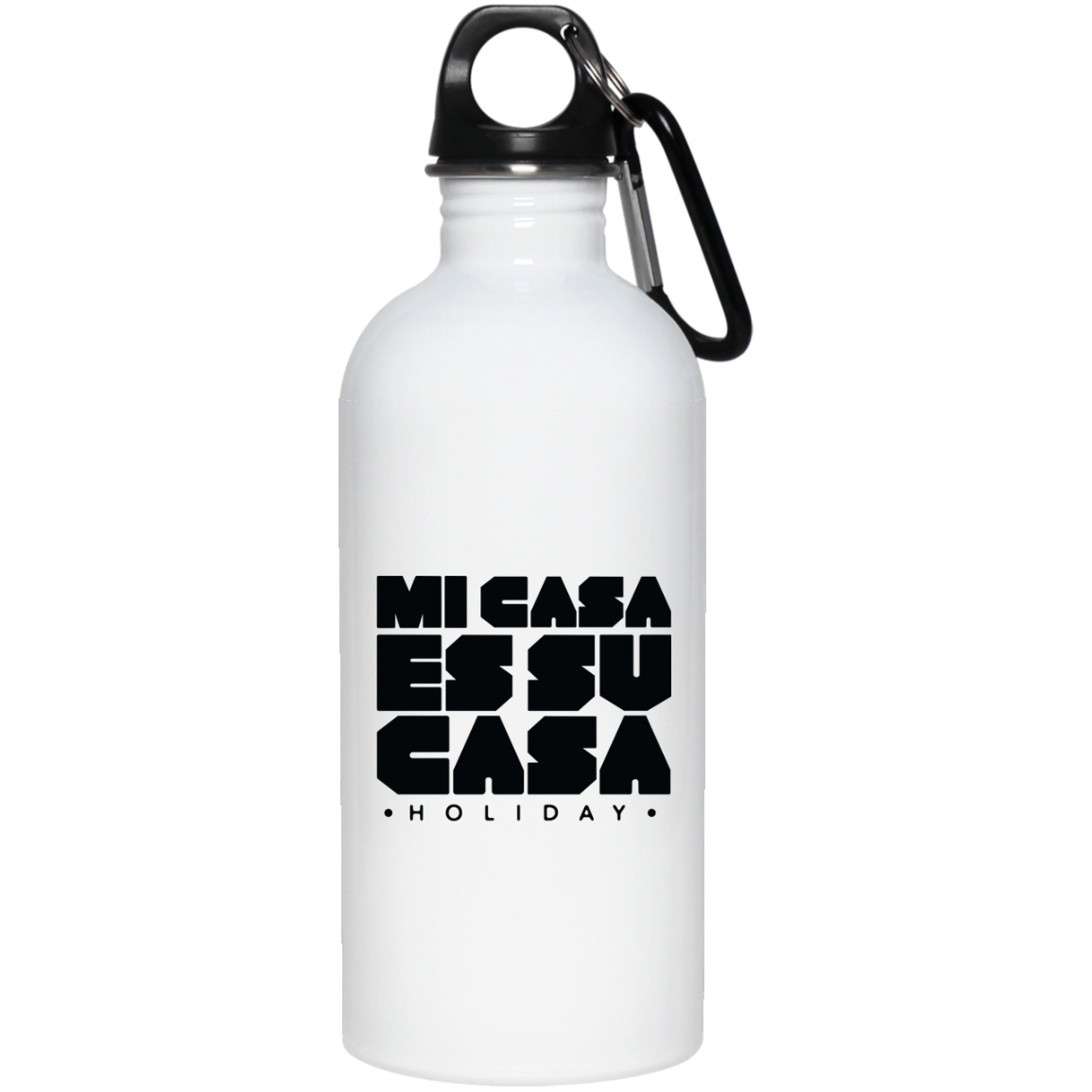 Classic Mi Casa Holiday 20 oz. Stainless Steel Water Bottle