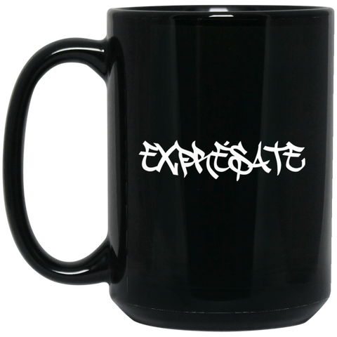 Expresate 15 oz. Black Mug