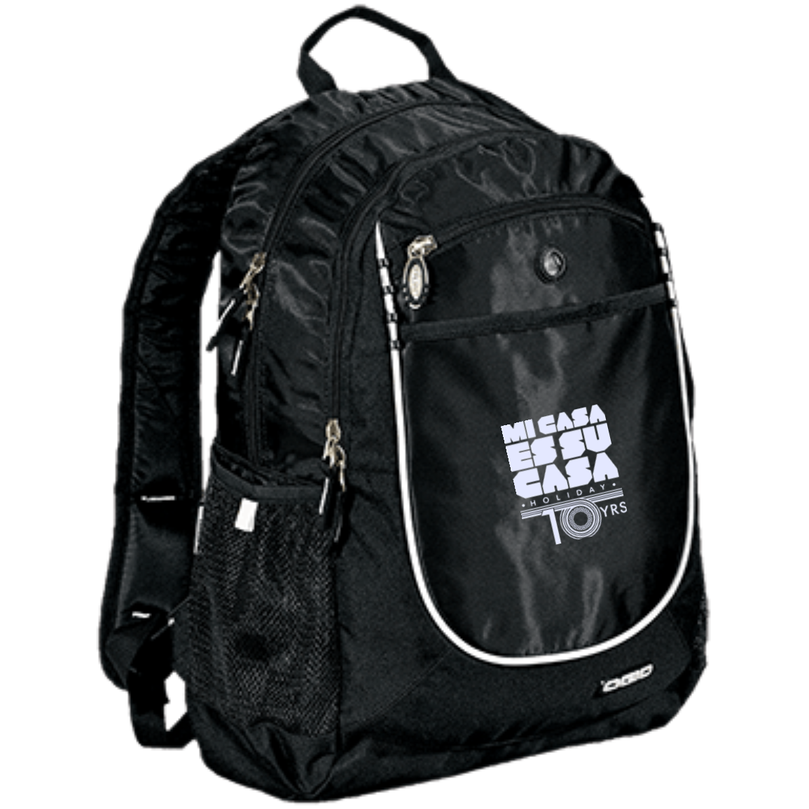 Mi Casa Holiday 10 Yr Rugged Book-Bag