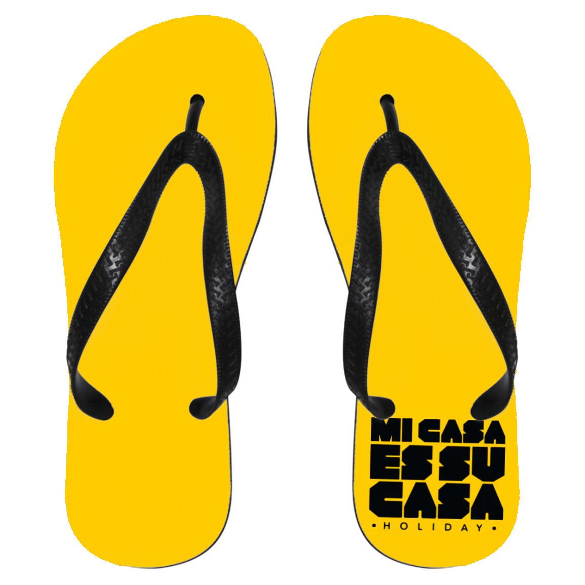Mi Casa Holiday Flip Flops - Medium