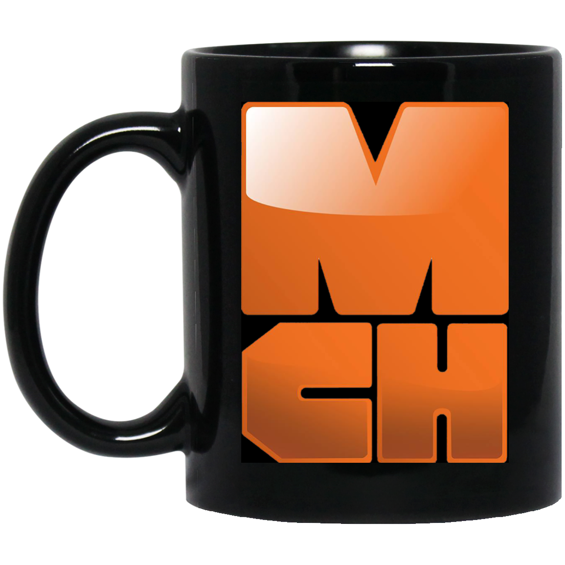 MCH Corp 11 oz. Black Mug