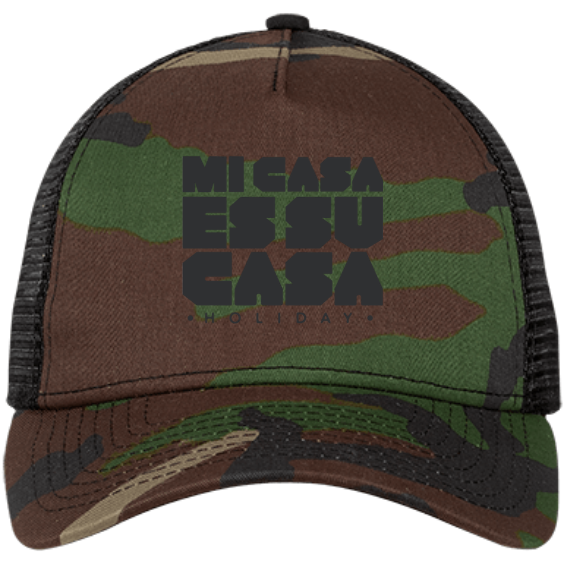 Classic Mi Casa Holiday New Era Embroidered Snap Back