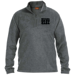 MCH Embroidered 1/4 Zip Fleece Pullover