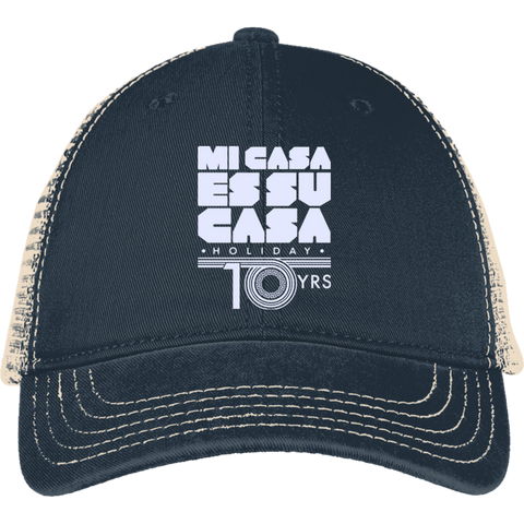 Mi Casa Holiday 10 Yrs Mesh Back Cap