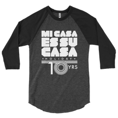 Mi Casa Holiday 10 Yrs 3/4 sleeve raglan shirt