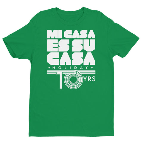 Mi Casa Holiday 10 yrs Short Sleeve T-shirt