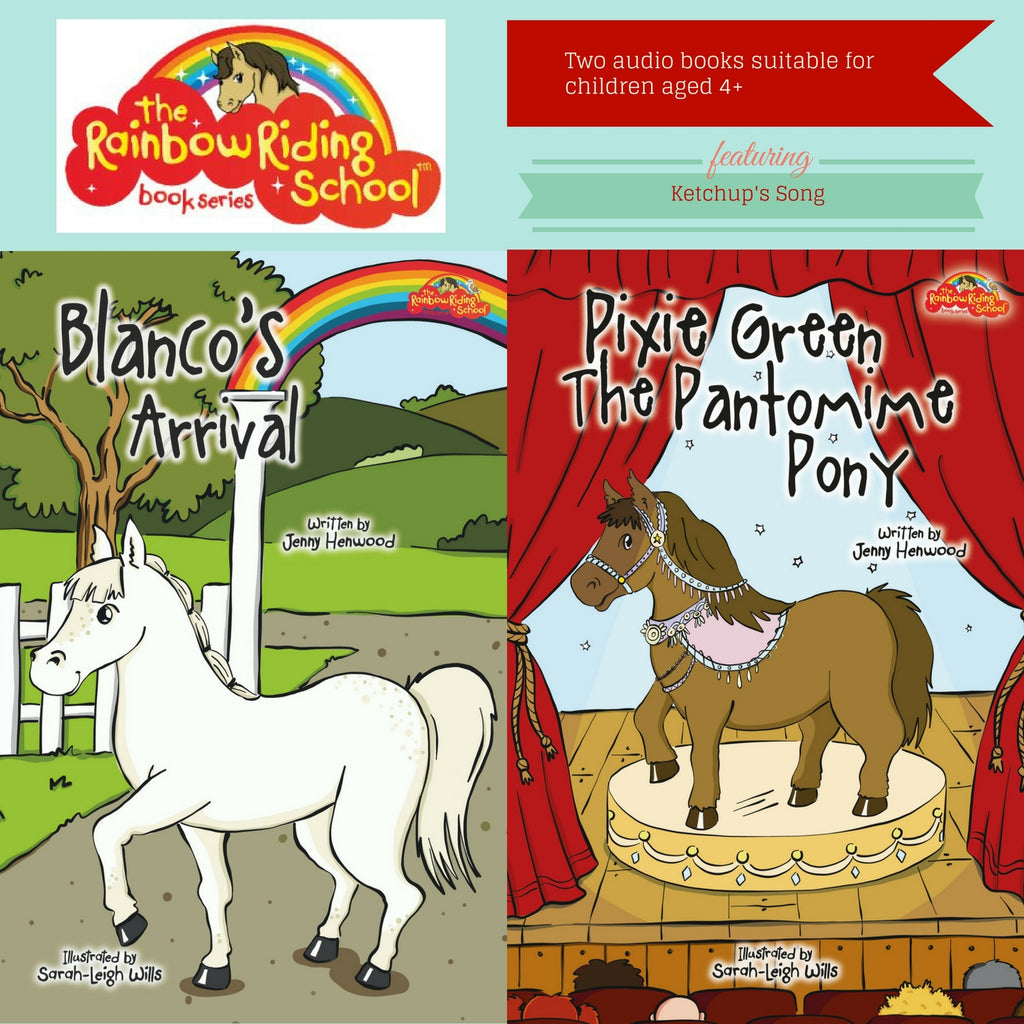 Blanco's arrival and Pixie Green The Pantomine Pony on Double CD