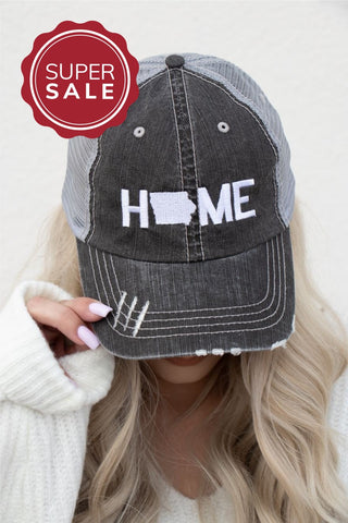 Iowa Home Trucker Hat
