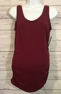 MotherHood Women's  Maroon Tank Top - Size S