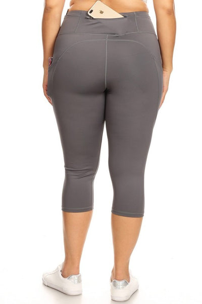 5 Pocket Yelete Active Capri Legging