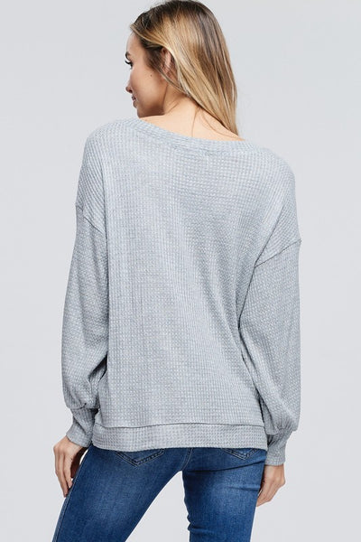 Stacy Puff Sleeved Sweater