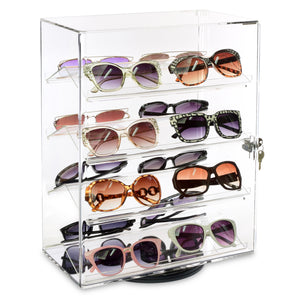#1106 Rotating Lock Optical Show Case