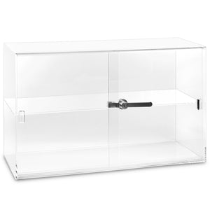#1467 Acrylic Countertop Eyewear Showcase With Key Camlock