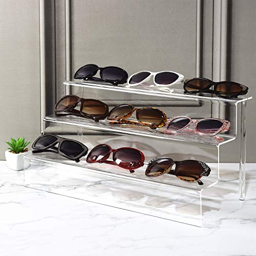 #1253 Acrylic Stairs Eyewear Stand, 9 Frames