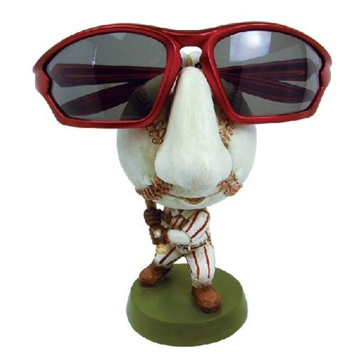 "#DP3420  Eyewear Doll Display - Baseball, 2 3/4"" W x 3 1/2""D x 5""H"