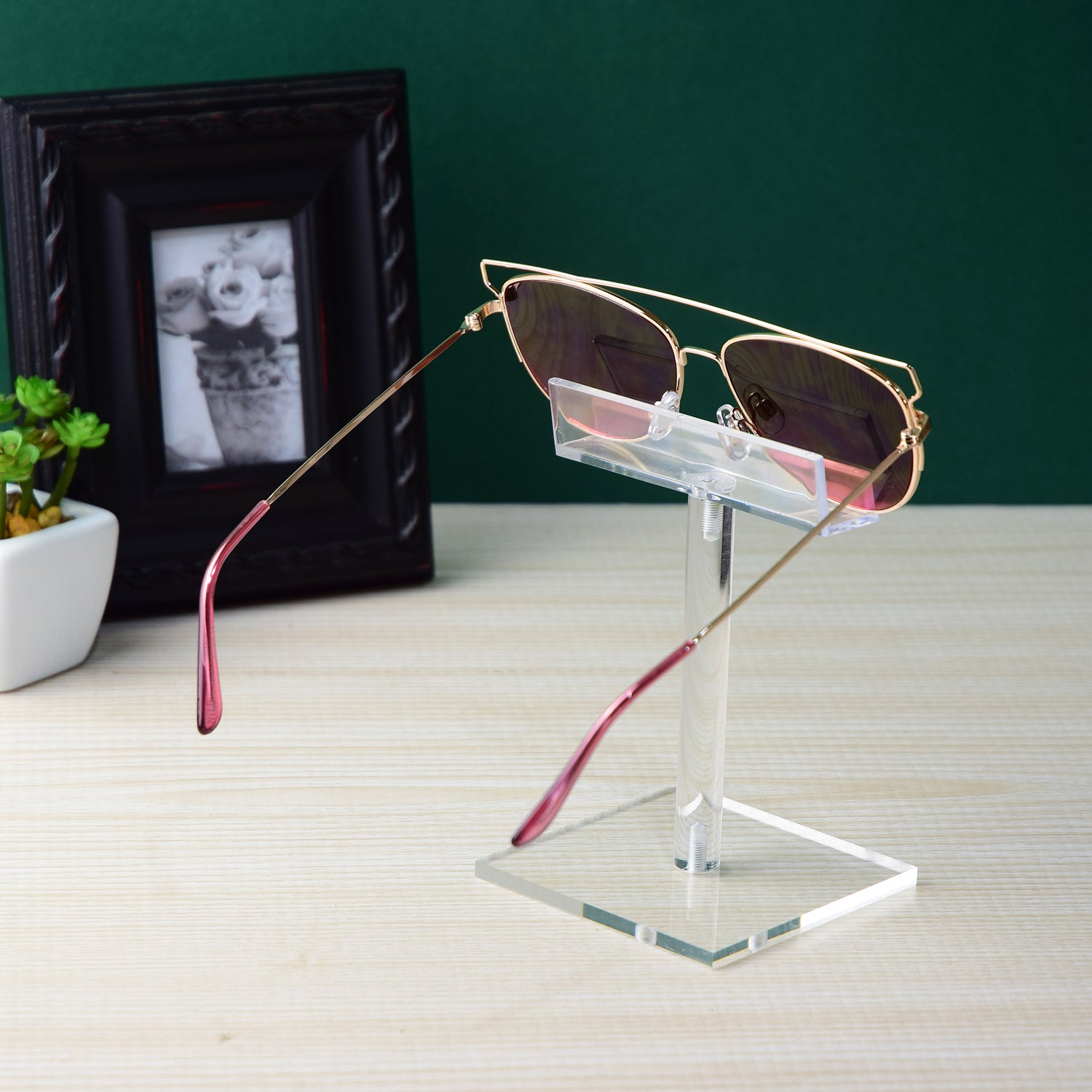 #AC-005 Acrylic Single Eyeglass Frame Stand
