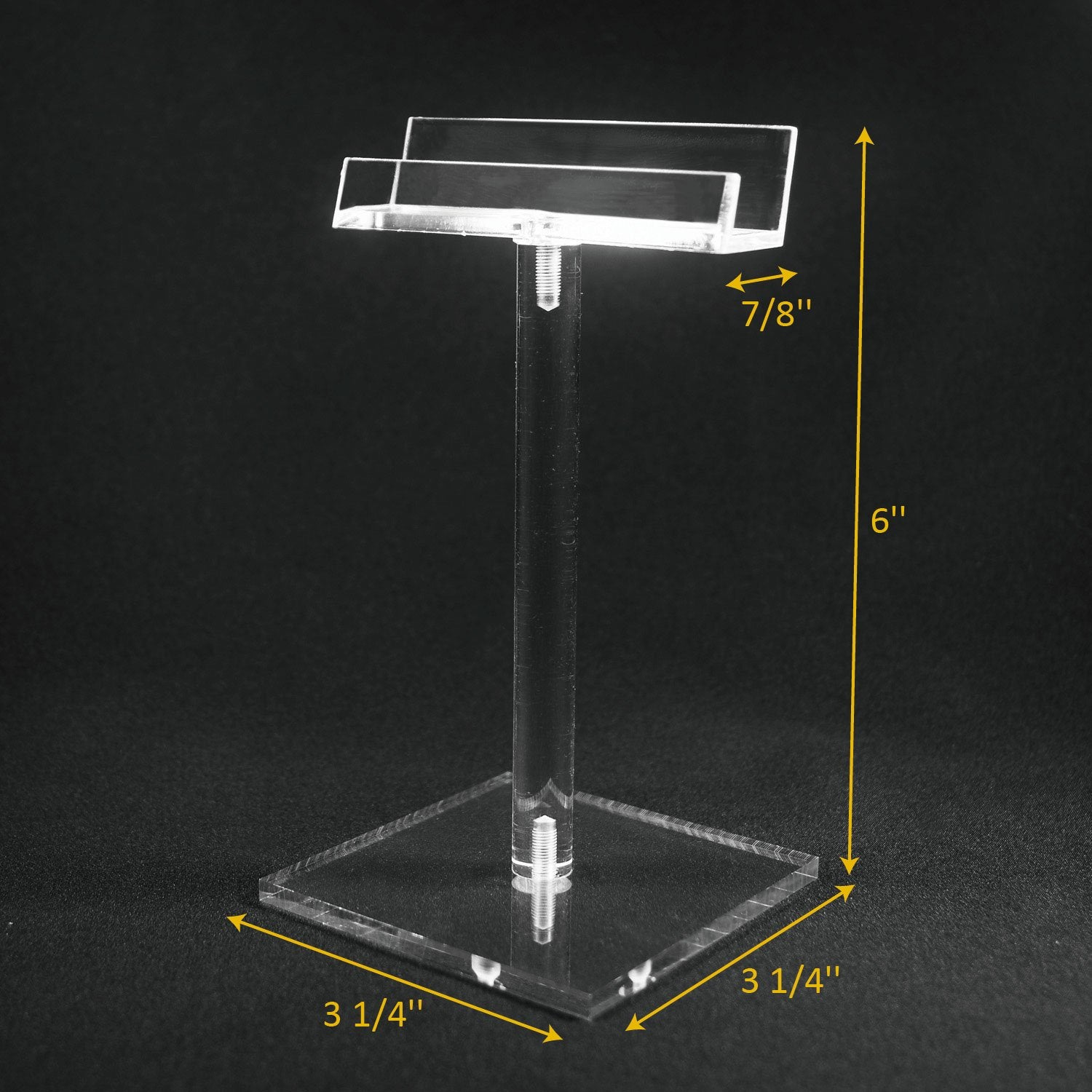 #AC-006 Acrylic Single Eyeglass Frame Stand | APEX International