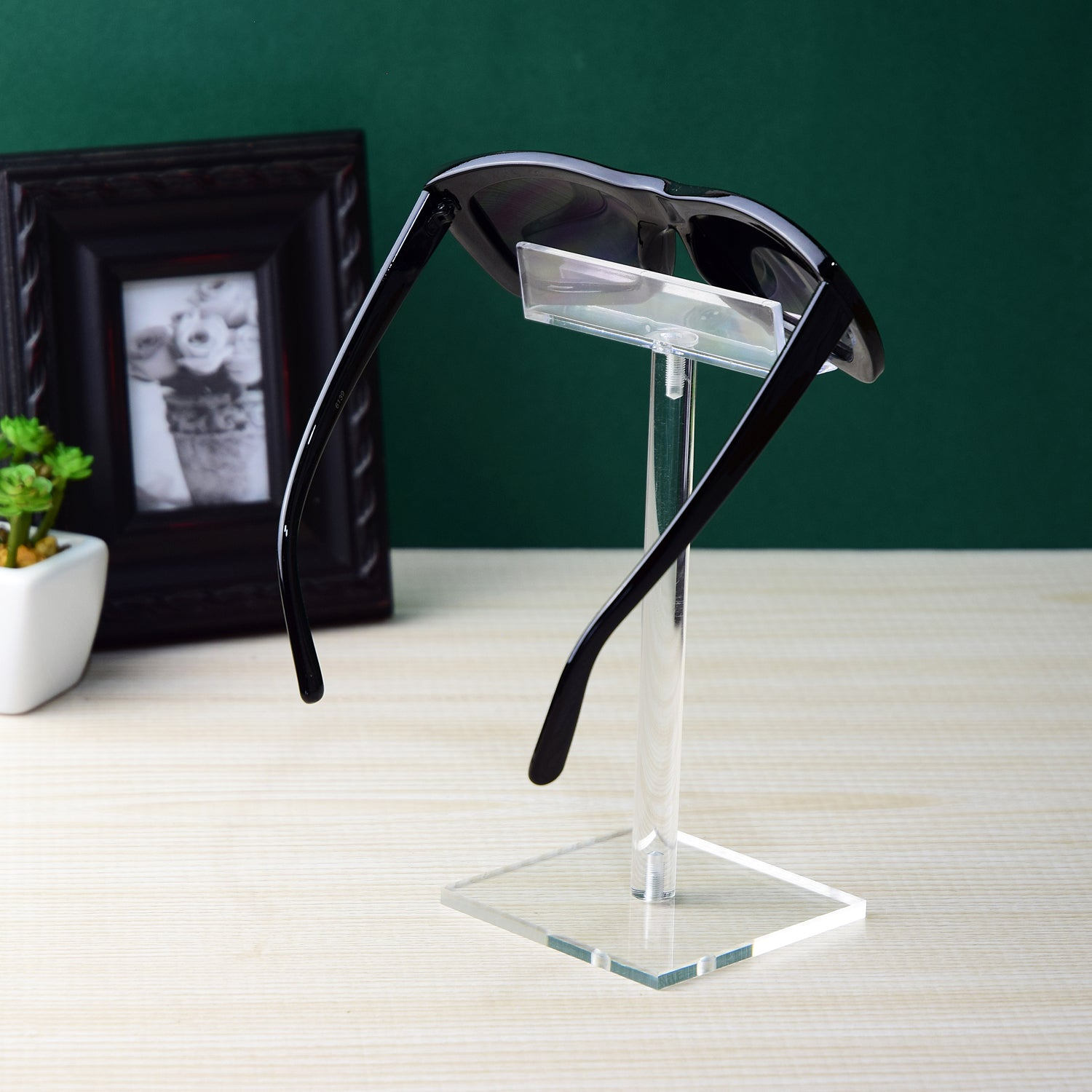 #AC-007 Acrylic Single Eyeglass Frame Stand | APEX International
