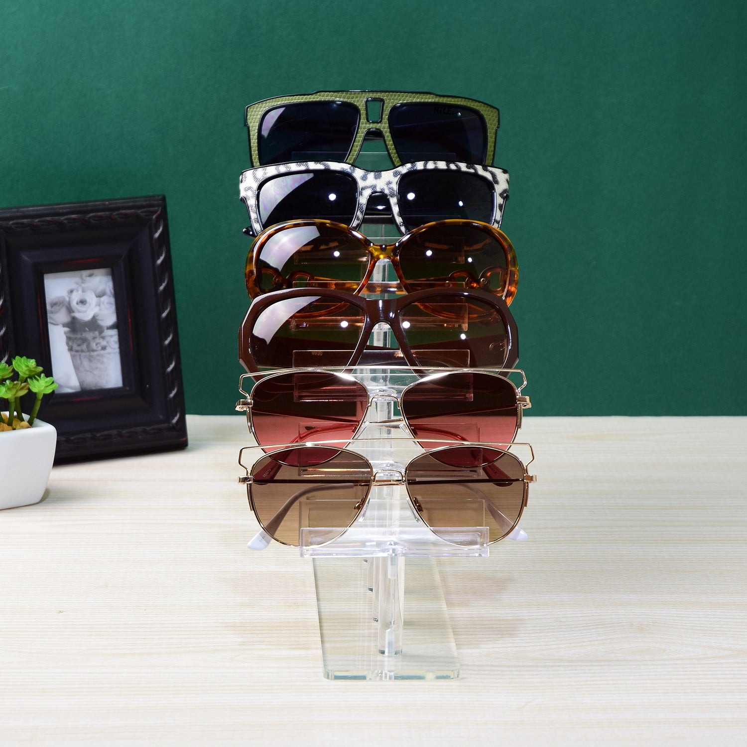 #AC-016 Acrylic 6 Tiers Eyewear Frame Stand | APEX International