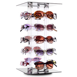 #AC-020R Acrylic Rotating Eyewear Display