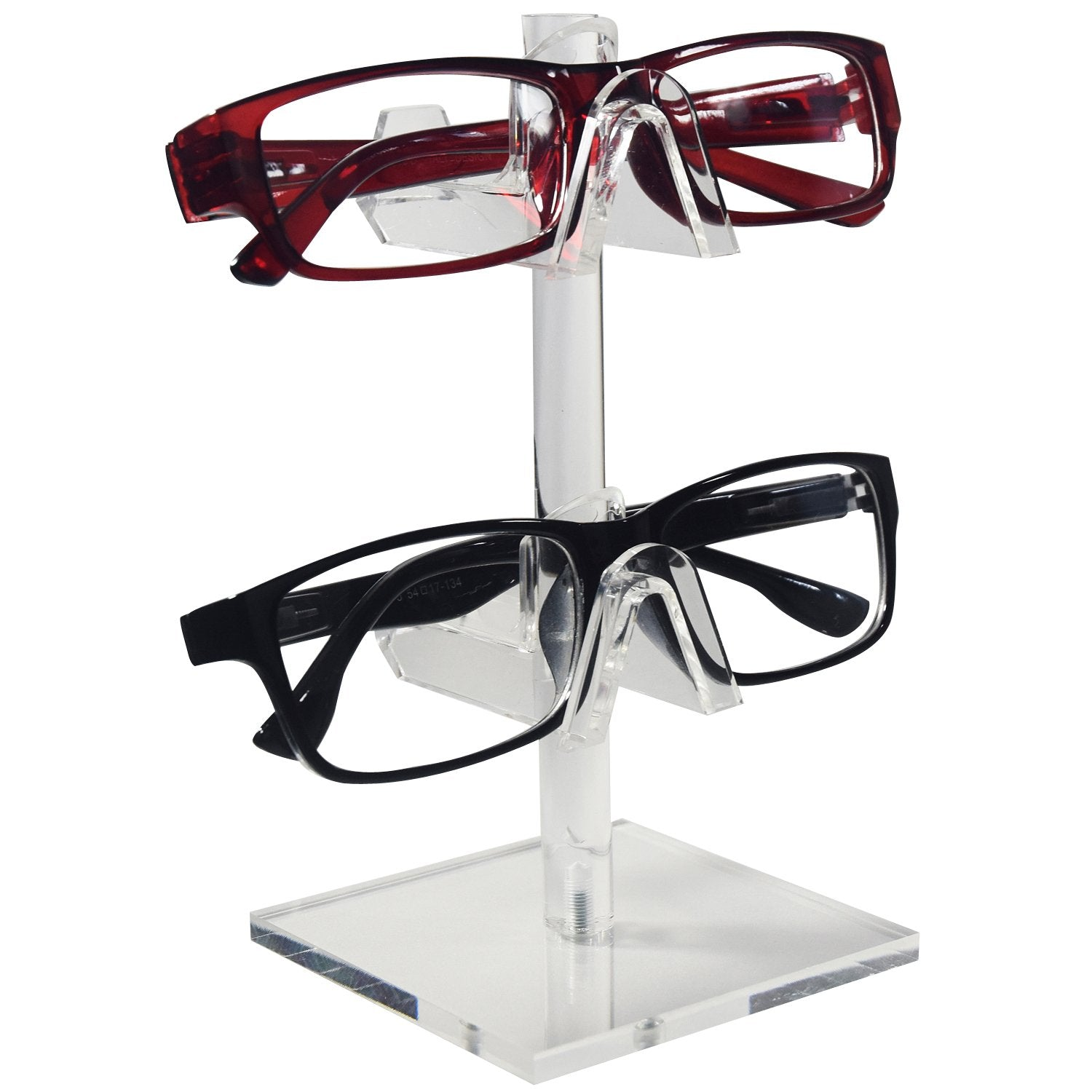 #AC-022 Acrylic Eyeglasses Frame Riser, 2 Frames | APEX International
