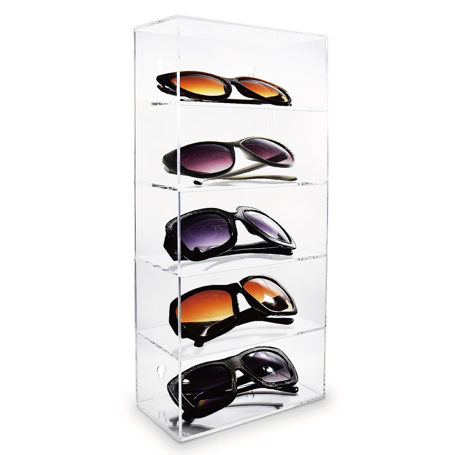 #DP319 Acrylic Five Shelves Eyewear Case Display | APEX International