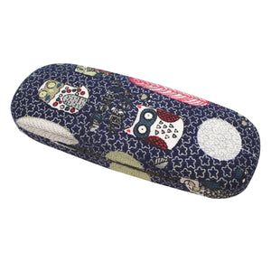"#EYC-1699 Fabric Covered Eyewear Case 6 1/4""W X 2 3/8""D X 1 3/8""H"