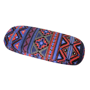 "#EYC-1701-3 Fabric Covered Eyewear Case 6 1/2""W X 2 1/2""D X  1 1/2"" H"