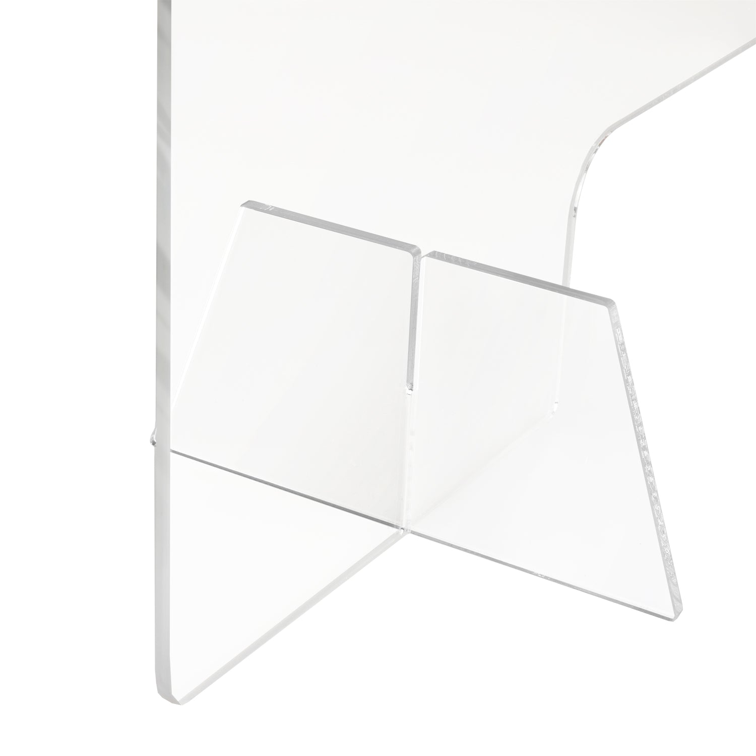 #HOM0318 Acrylic Countertop Clear Sneeze Guard Panel