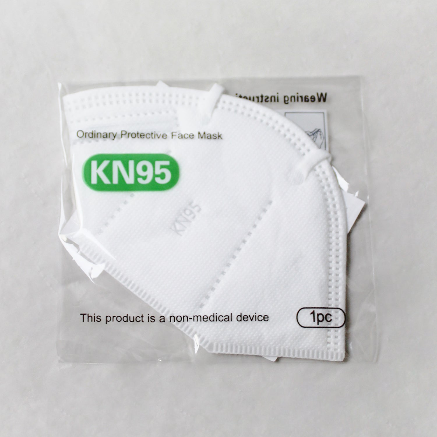 #MS-N95 N95 White Protective Mask