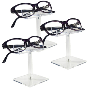 #AC-004X3 Acrylic Single Eyeglass Frame Stand.3pcs/set
