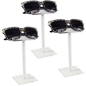#AC-007X3 Acrylic Single Eyeglass Frame Stand.3pcs/set