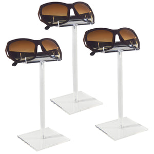 #AC-008X3 Acrylic Single Eyeglass Frame Stand.3pcs/set