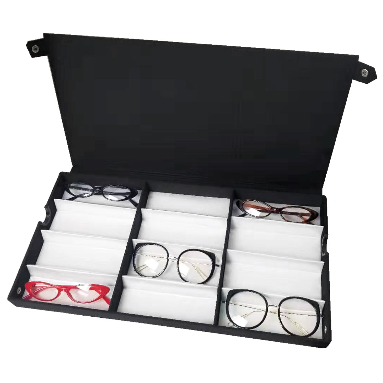 #TR-34BF Eyewear Storage And Display Case, Fabric Covered