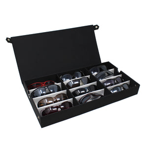 #TR-34BFL Eyewear Storage And Display Case, Fabric Covered