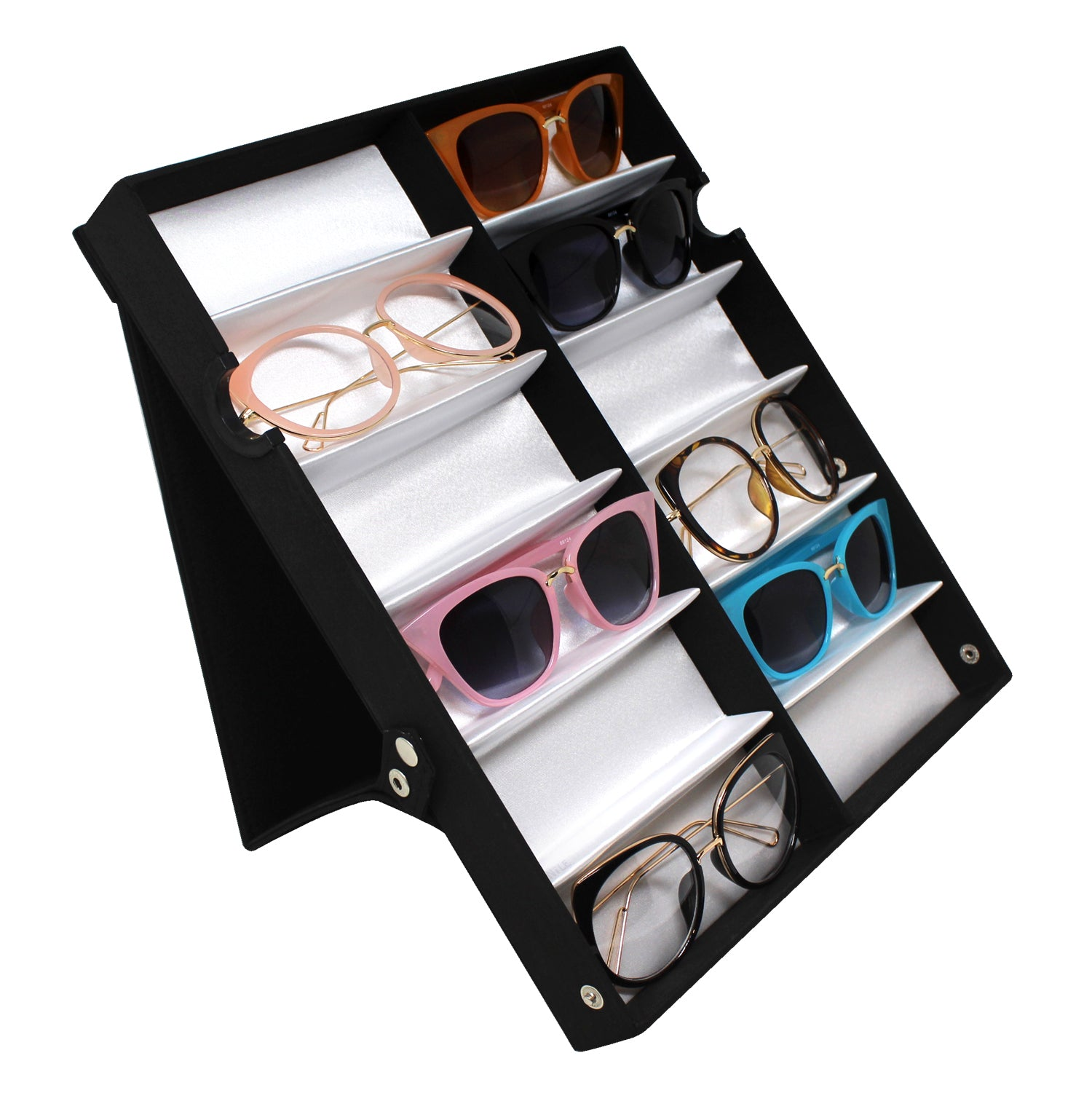 #TR-34VF Eyewear Storage And Display Case,Fabric Covered