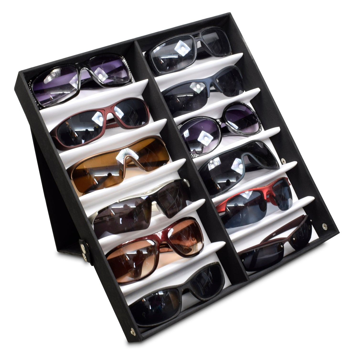 #TR-34VFL Eyewear Storage And Display Case,Fabric Covered, Lightweight
