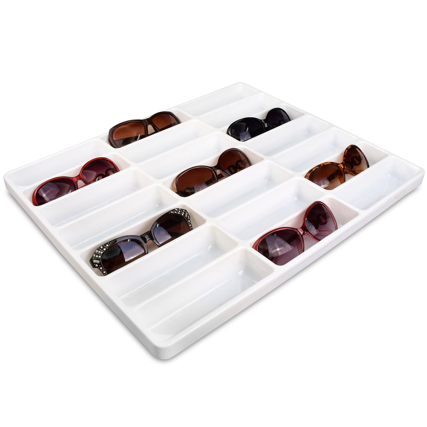 #TR-37P Plastic Eyewear Tray (Open Bottom) | APEX International